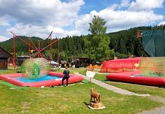 Dětský park u hotelu Bauer