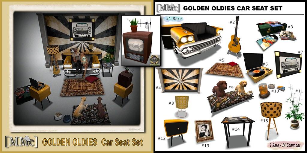 MMc Golden Oldies Gatcha