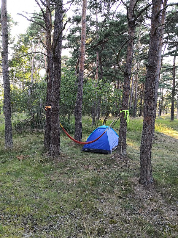Camping at Örö