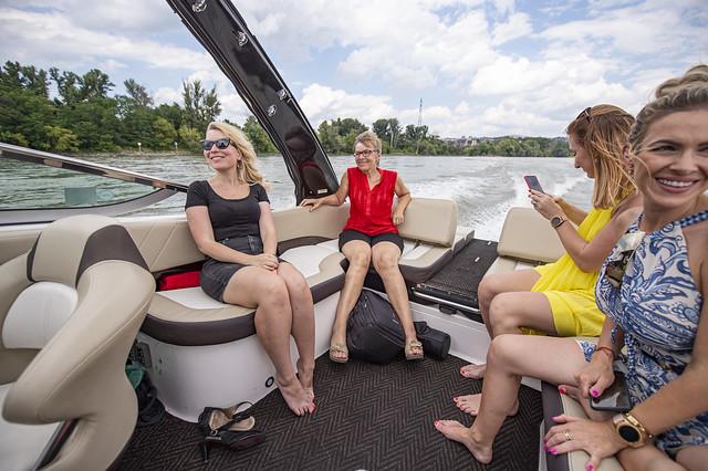 Rýchlo člnom na Dunaji
