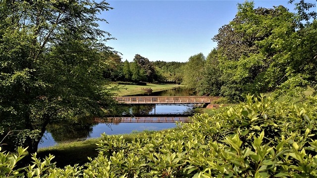 Bellingrath Gardens and Home (Mirror Lake and Rustic Bridge)