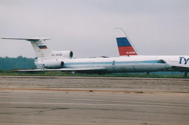 RA-85299 Tupolev Tu-154B