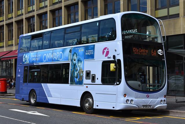 First Glasgow Volvo B9TL 37750