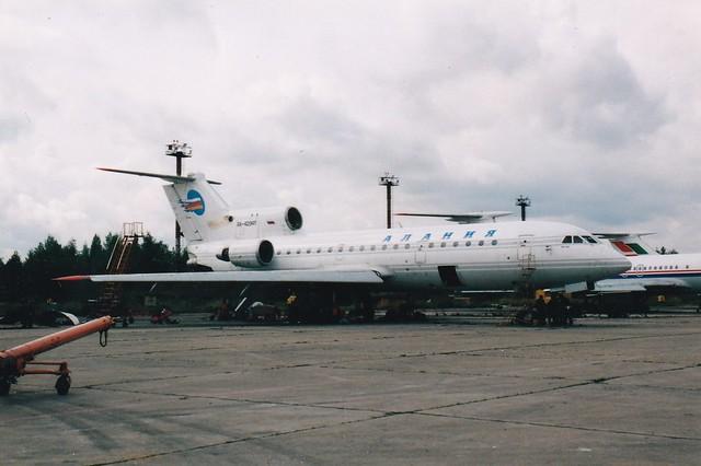 RA-42341 Yakovlev Yak-42D