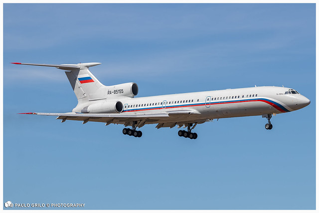 RA-85155 | Russian Federation Air Force | Tupolev Tu-154M