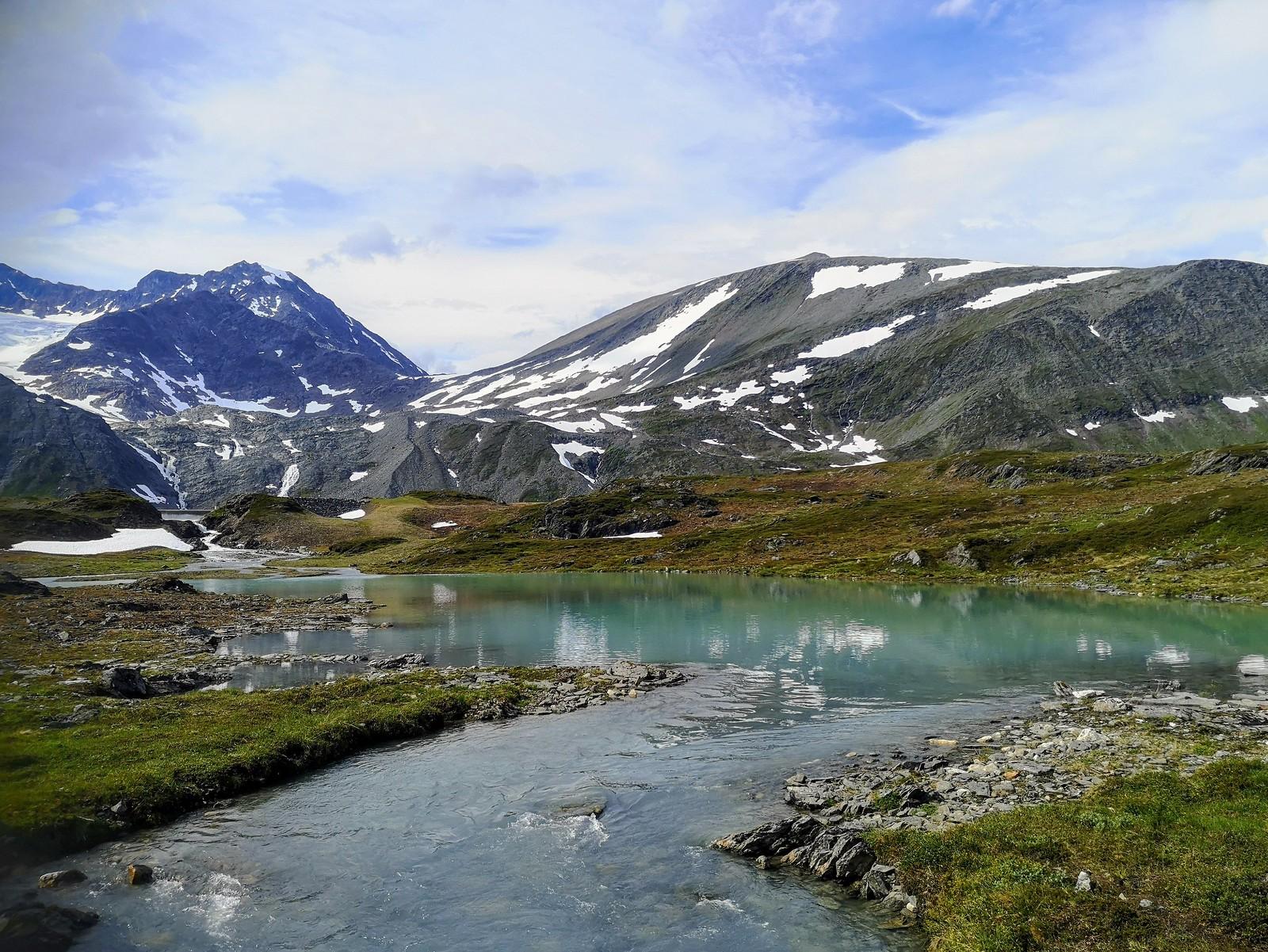 Rottenvikvatnet Lyngen Norja