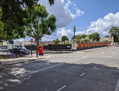 Mornington Street junction with Mornington Terrace