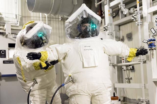 Blue Grass Chemical Agent-Destruction Pilot Plant Toxic Area Training