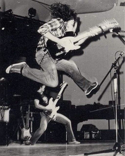 Rory Gallagher in action ! 1970s