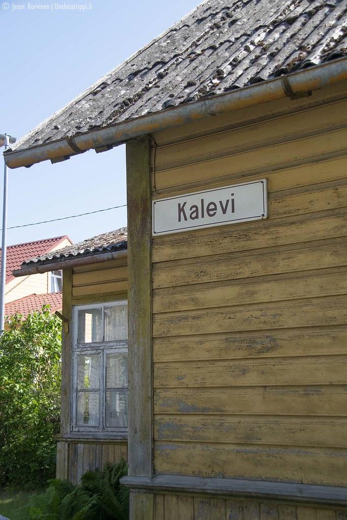 Puutalo Haapsalussa Virossa