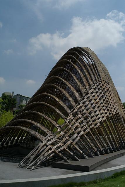 葫蘆墩公園  竹跡館
