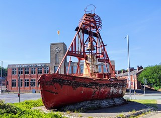 Nelson Bell-Boat Buoy at Preston Docks | by Tony Worrall