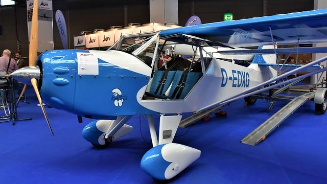 D-EDXG - Skystar Kitfox Mk.5 Outback/Safari    Fredrichshafen