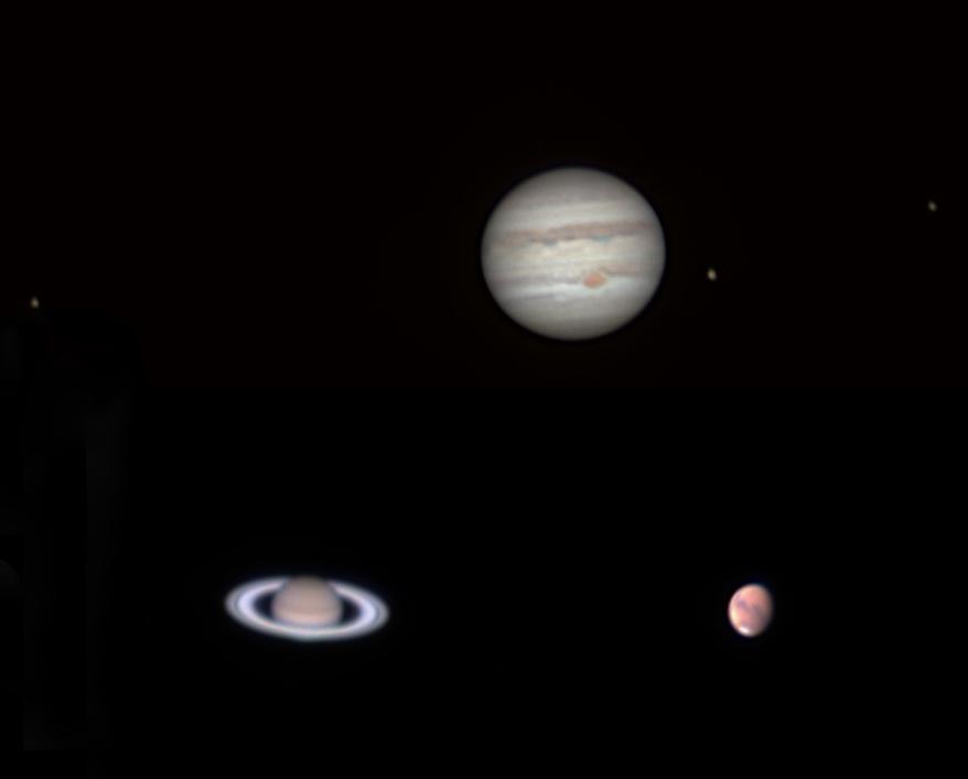 Jupiter, Szaturnusz, Mars - Ágoston Zsolt - VCSE