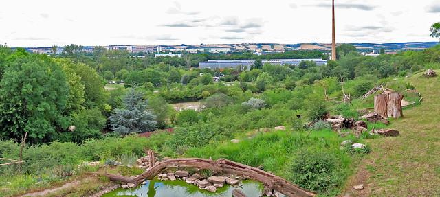 20336.Blick vom Zoo auf  EF Nord