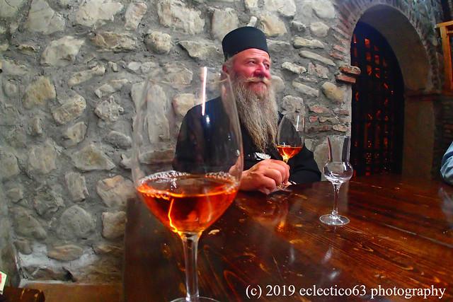 when the Abbot of Alaverdi opens the wine cave...