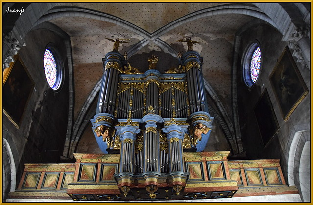 Órgano de la Catedral de Santa María de Olorón (Francia, 27-7-2020)