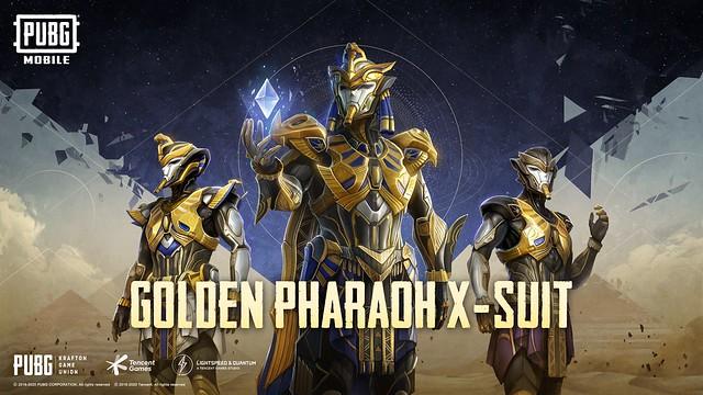 Golden Pharaoh X-Suit Banner