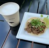 Most expensive taco & 6 oz. of beer I've ever had :sweat_smile: Tasty but almost the price of a full lunch outside of the park! #disneyworld #wdw #epcot #epcotfoodandwinefestival #mexicopavilion #tacos #beer
