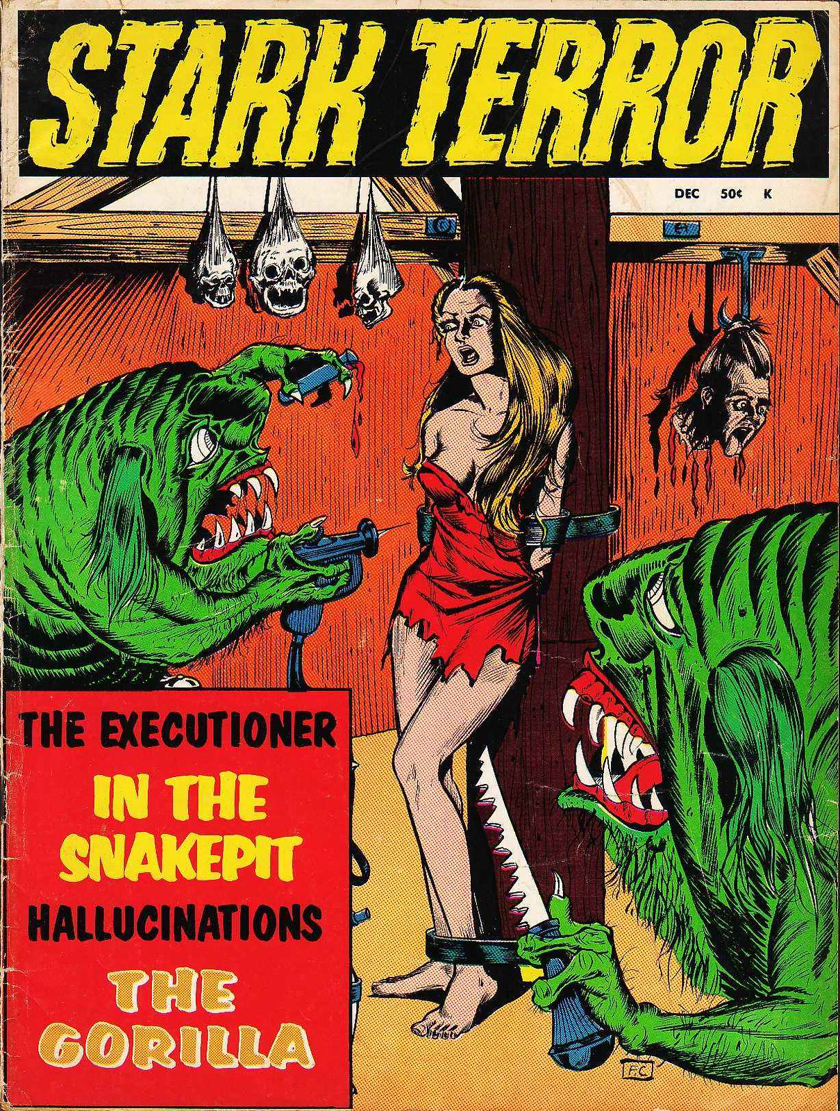 Stark Terror - 01, December 1970