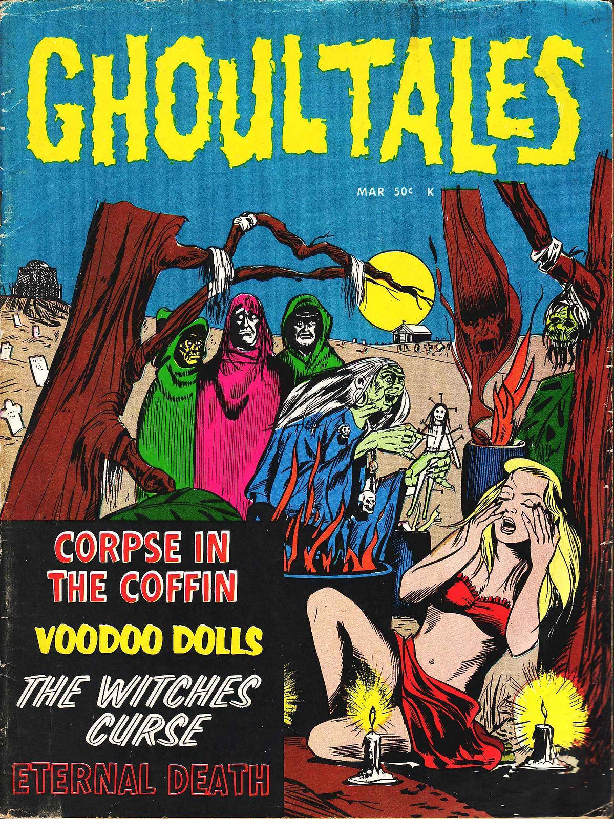 Ghoul Tales - 03, March 1971