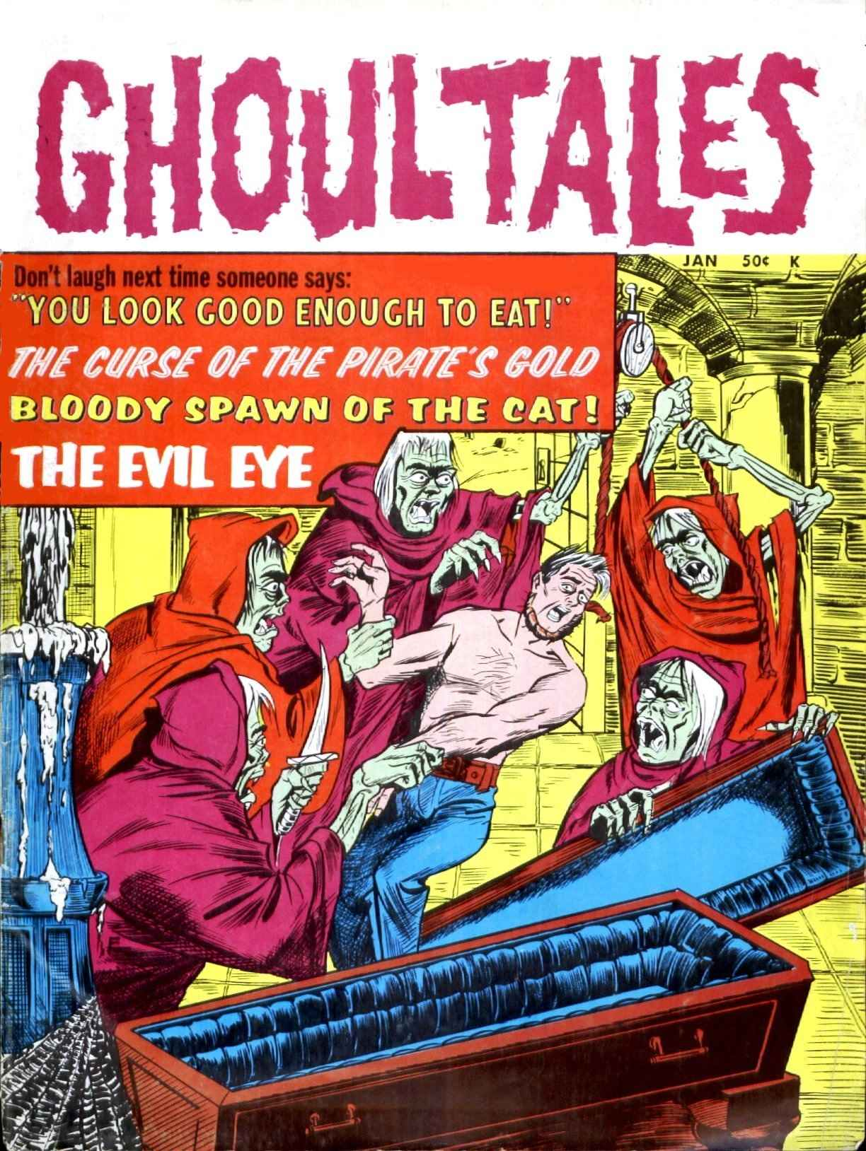 Ghoul Tales - 02, January 1971