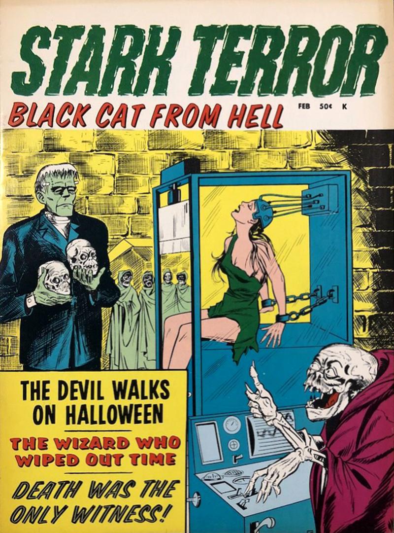 Stark Terror - 02, February 1971