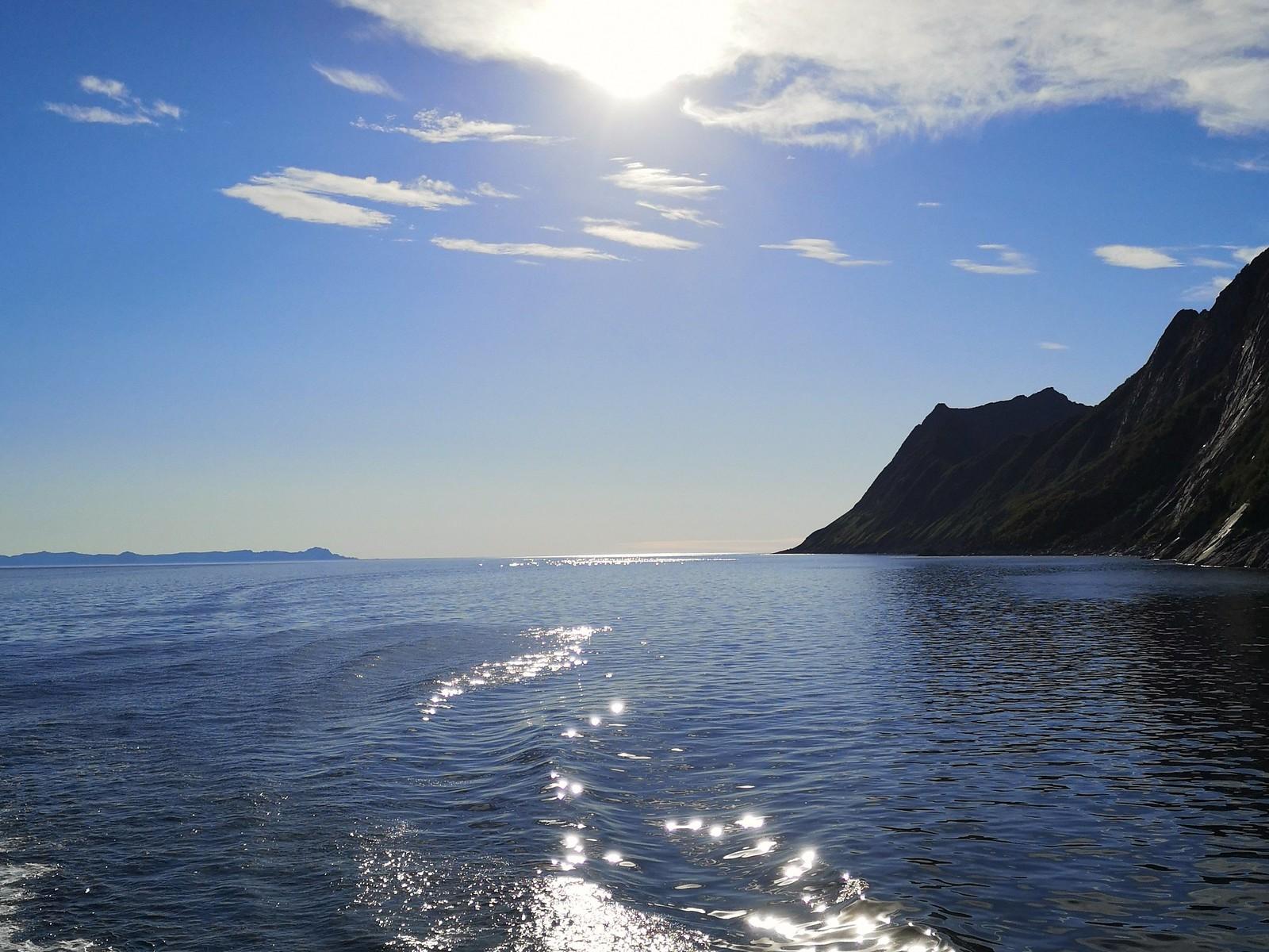 Andenes Gryllefjord lautta