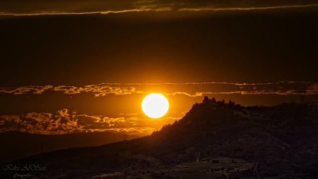 Ocaso. Sunset.