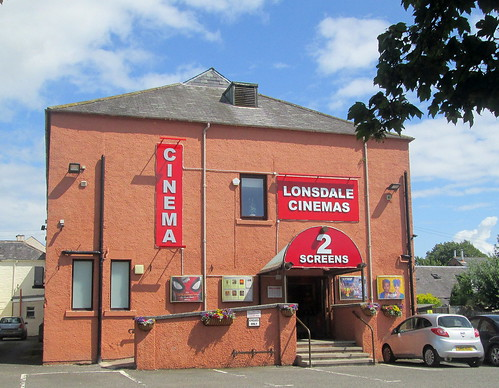 Entrance Lonsdale Cinema, Annan