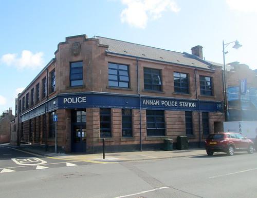 Art Deco Police Station, Annan