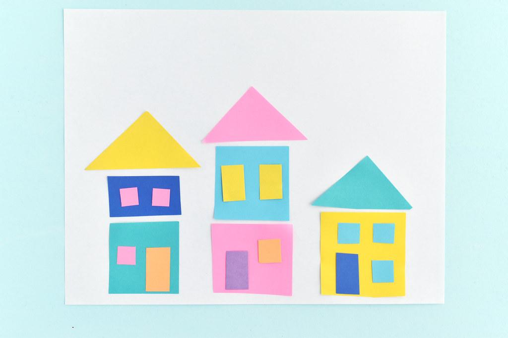 making paper neighborhoods