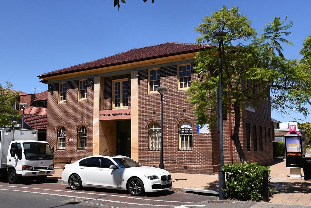 Concord Memorial Hall, Concord, Sydney, NSW.