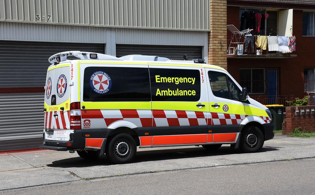 Ambulance, Ambulance Station, Campsie, Sydney, NSW.