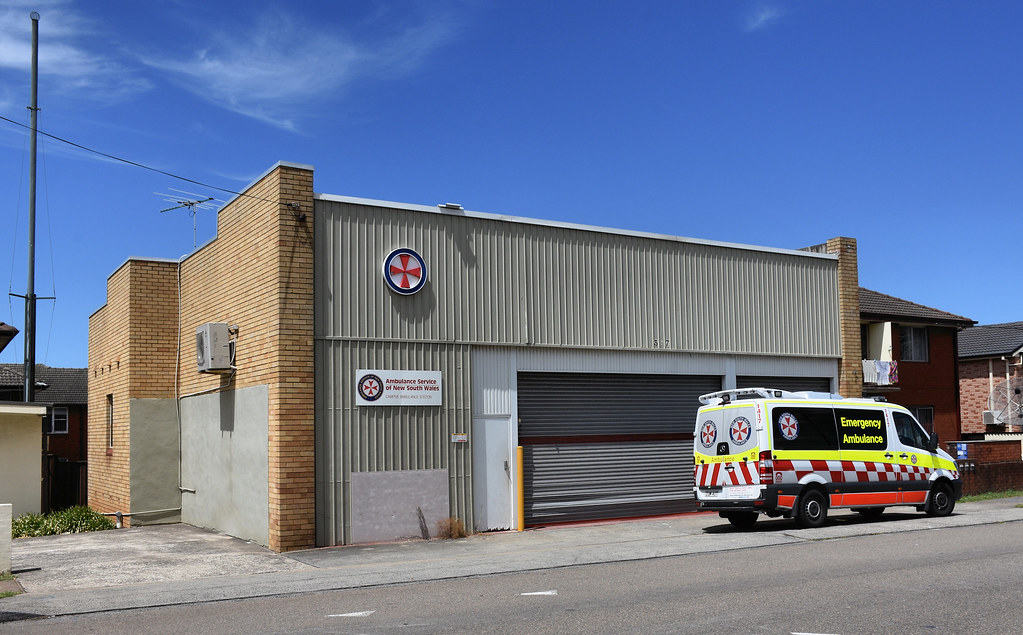 Ambulance Station, Campsie, Sydney, NSW.