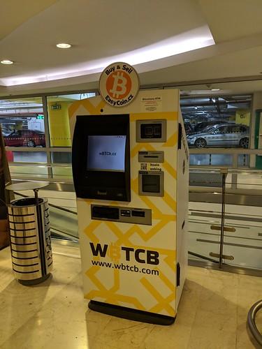 Bitcoin ATM in Prague