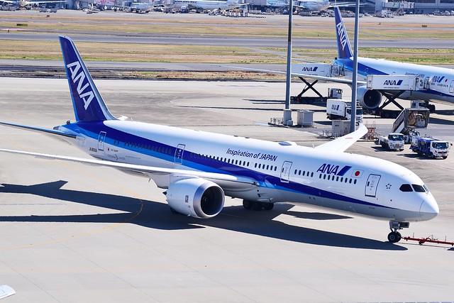 JA896A Boeing 787-9 ANA 2018-03-17 Tokyo Haneda