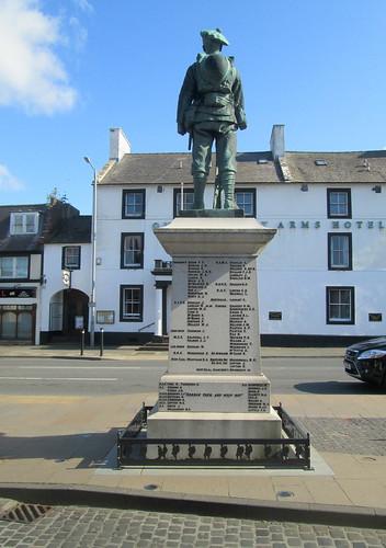 Reverse Annan War Memorial