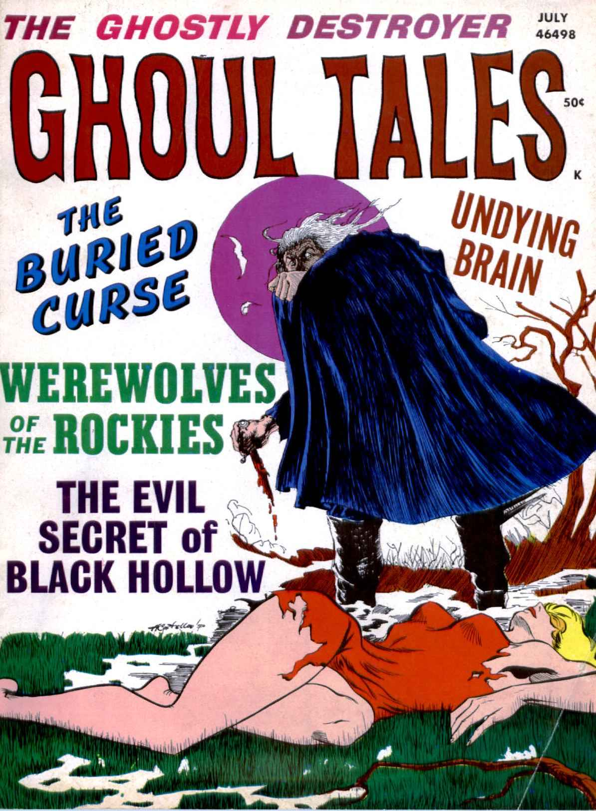 Ghoul Tales - 05, July 1971