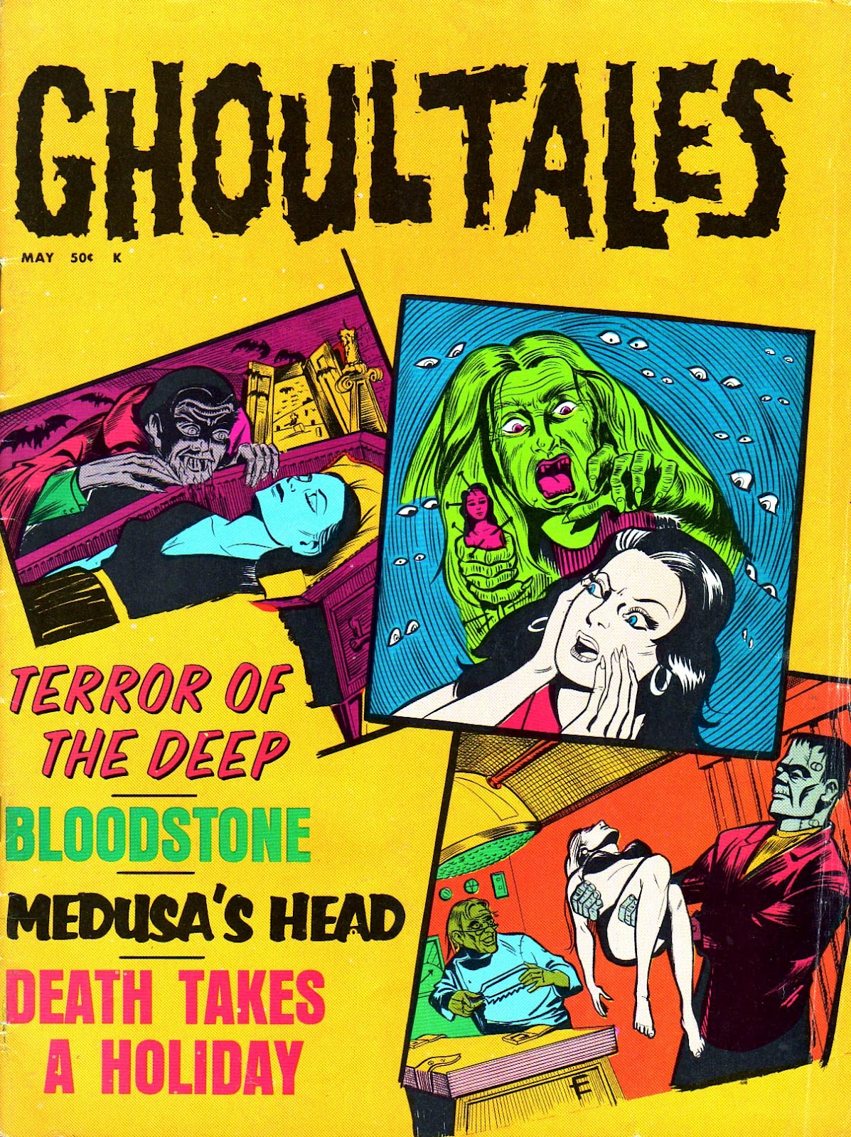 Ghoul Tales - 04, May 1971