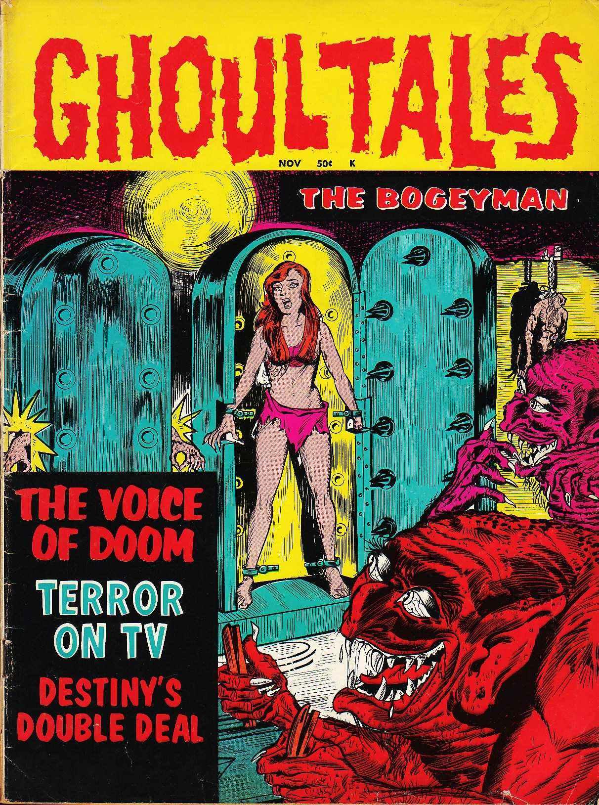 Ghoul Tales - 01, November 1970