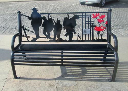 War Memorial Bench, Annan