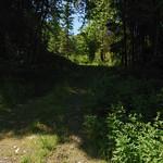 The bottom of Ski route from Askim Østre, taken at Solbergfosslinna.