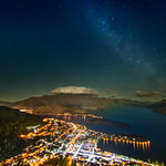 Stars over Queenstown