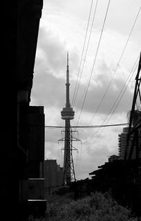 cn tower...