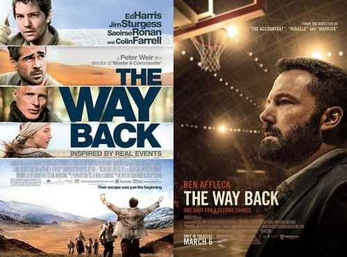 Movies w/the same title: The Way Back