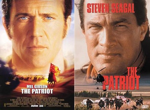 Movies w/the same title: The Patriot