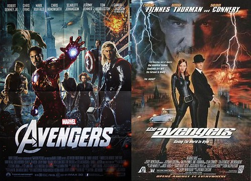 Movies w/the same title: The Avengers