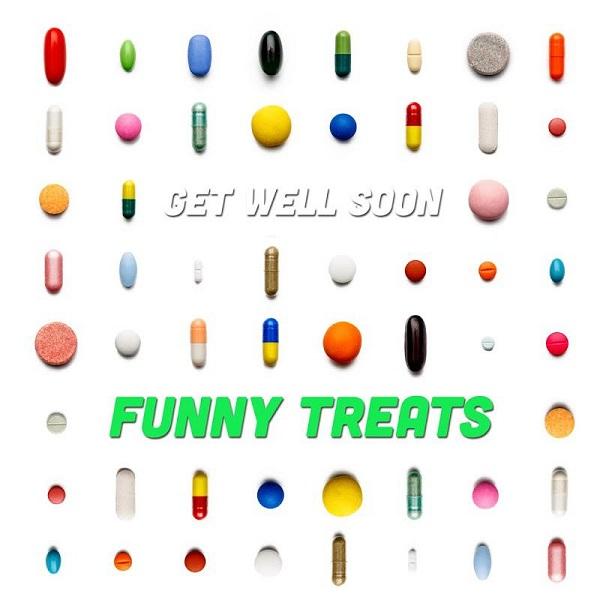 Get Well Soon - Funny Treats