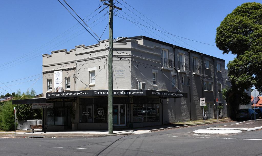 The Corner Store, Concord, Sydney, NSW.